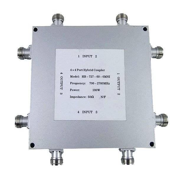 4_4混合耦合器(800-2500MHz)