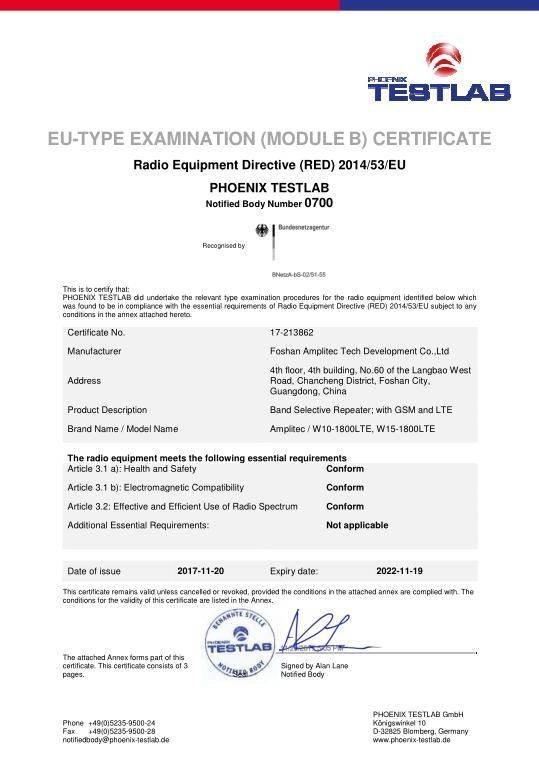 CE Certification 2