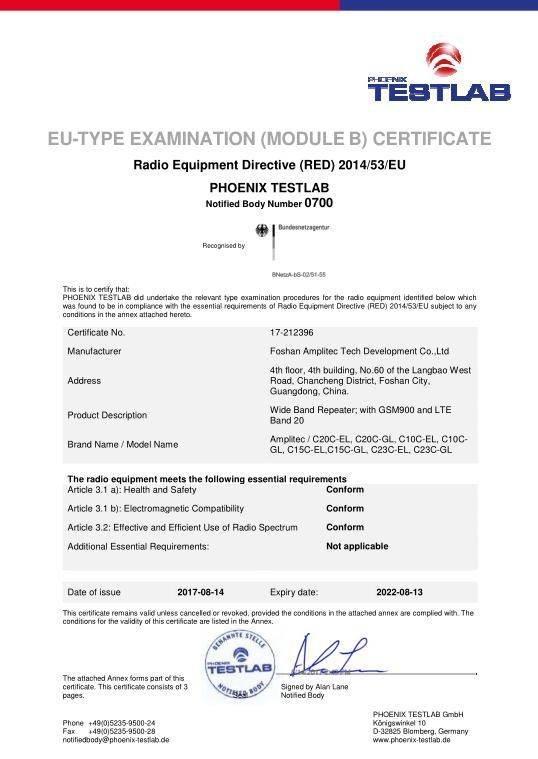CE Certification 4
