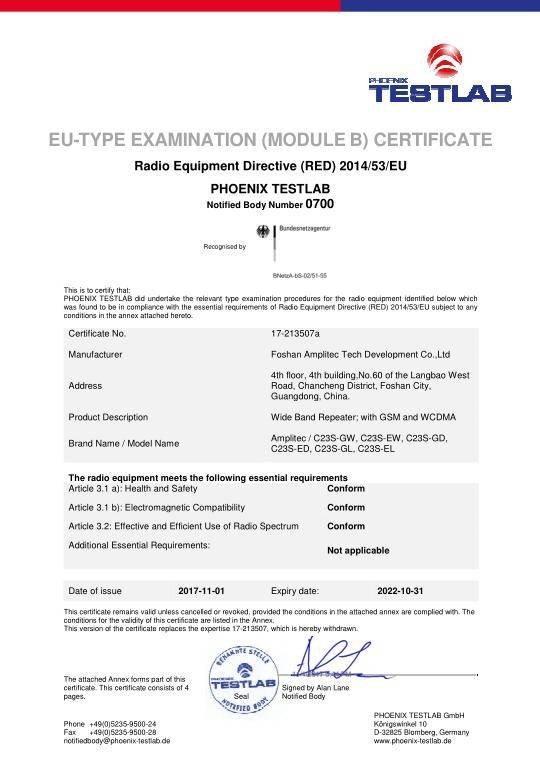 CE Certification 5